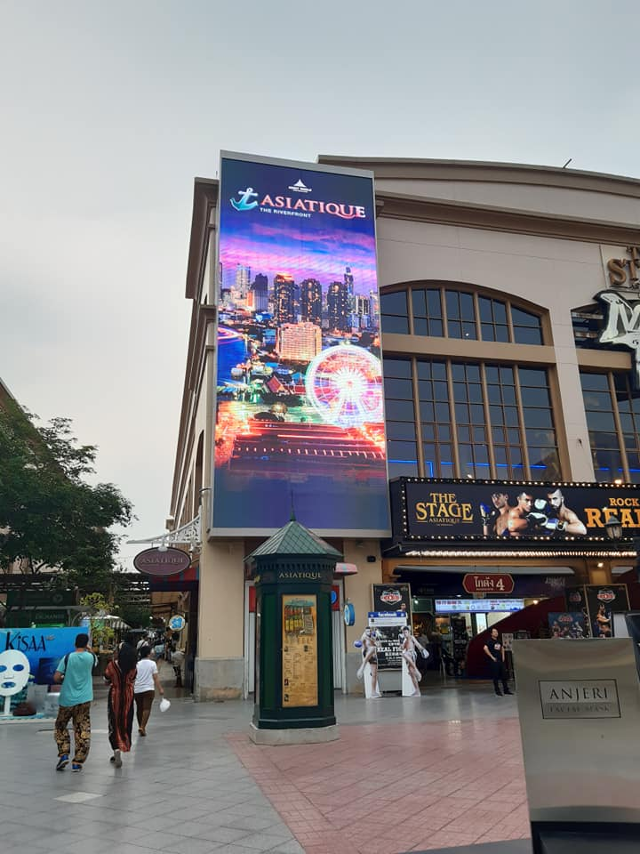 P8 Outdoor จอ Led screens Display Screen Asiatique the Riverfornt