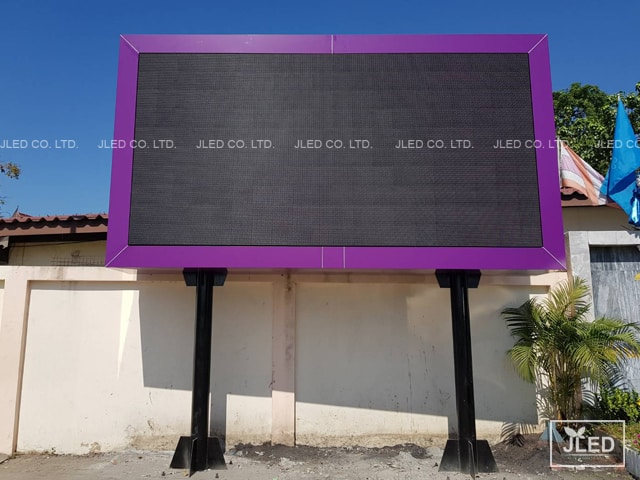 P6 Outdoor Full Color จอLed Display
