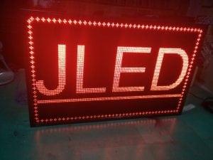 ป้ายไฟวิ่ง scrolling sign LED ป้ายไฟ จอLED