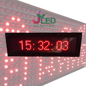 ป้ายไฟวิ่ง red moving sign scrolling sign jled