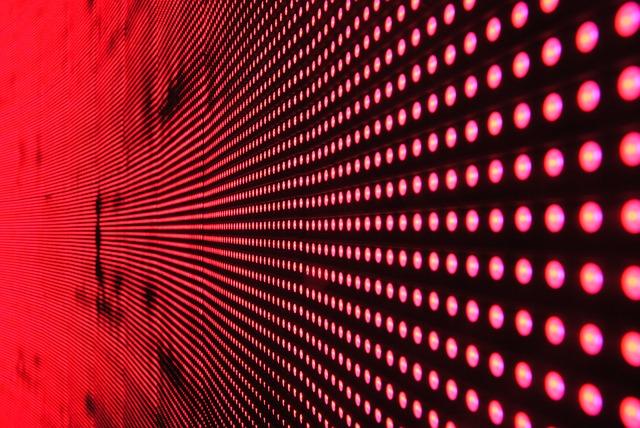 led red lights capture การบำรุงรักษาจอแสดงผล LED