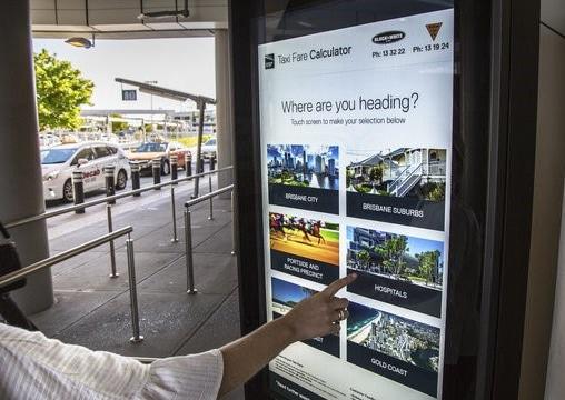 สนามบินจอLED led display jled