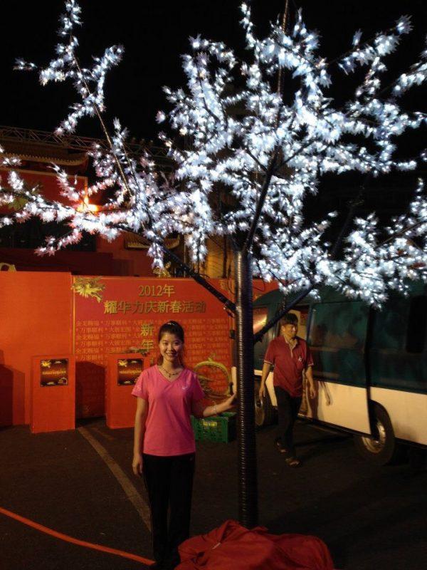 จอLED Tree ต้นไม้ ตกแต่งคริสต์มาส Christmas Decoration white