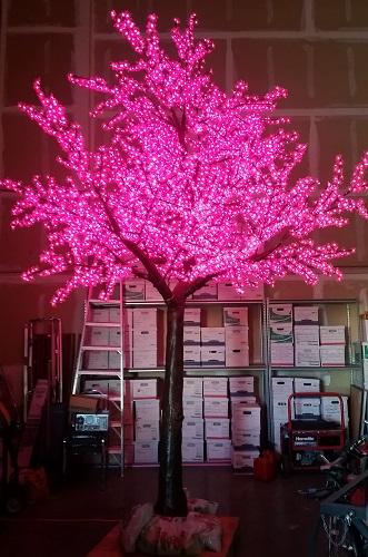 จอLED Tree ต้นไม้ ตกแต่งคริสต์มาส Christmas Decoration cherry blossom