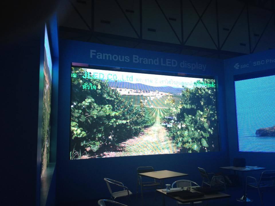 จอLED Display Full Color Thailand Entrepreneurship Exhibit