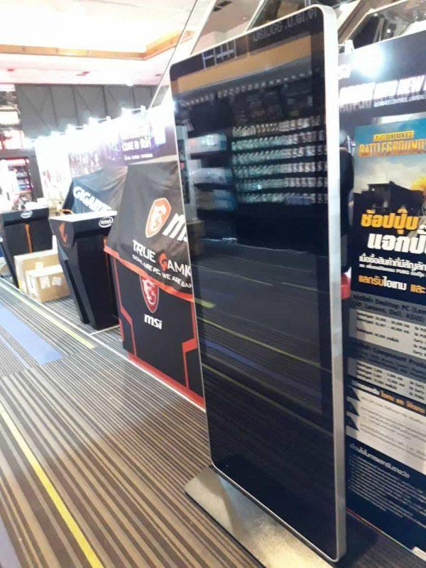 "55"" Digital Signage Kiosk จอโฆษณา ดิจิตอล LED Touchscreen 103"