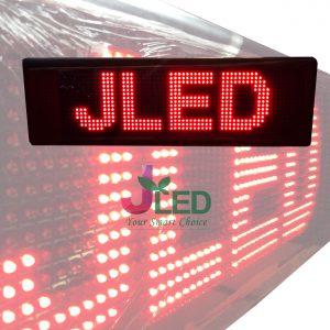 ป้ายไฟวิ่ง red single color จอled scrolling sign beautiful scrolling sign จอ led ป้ายไฟ