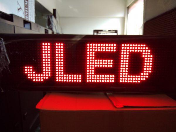 ป้ายไฟวิ่ง red single color จอled scrolling sign jled 1 nice ป้ายไฟ amazing moving sign
