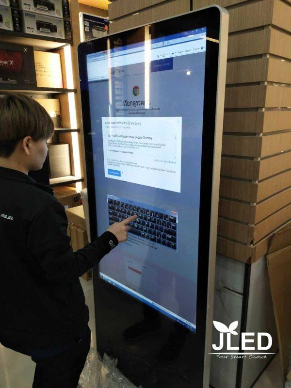 "50"" Digital Signage Kiosk จอโฆษณา ดิจิตอล LED Touchscreen จอLED"