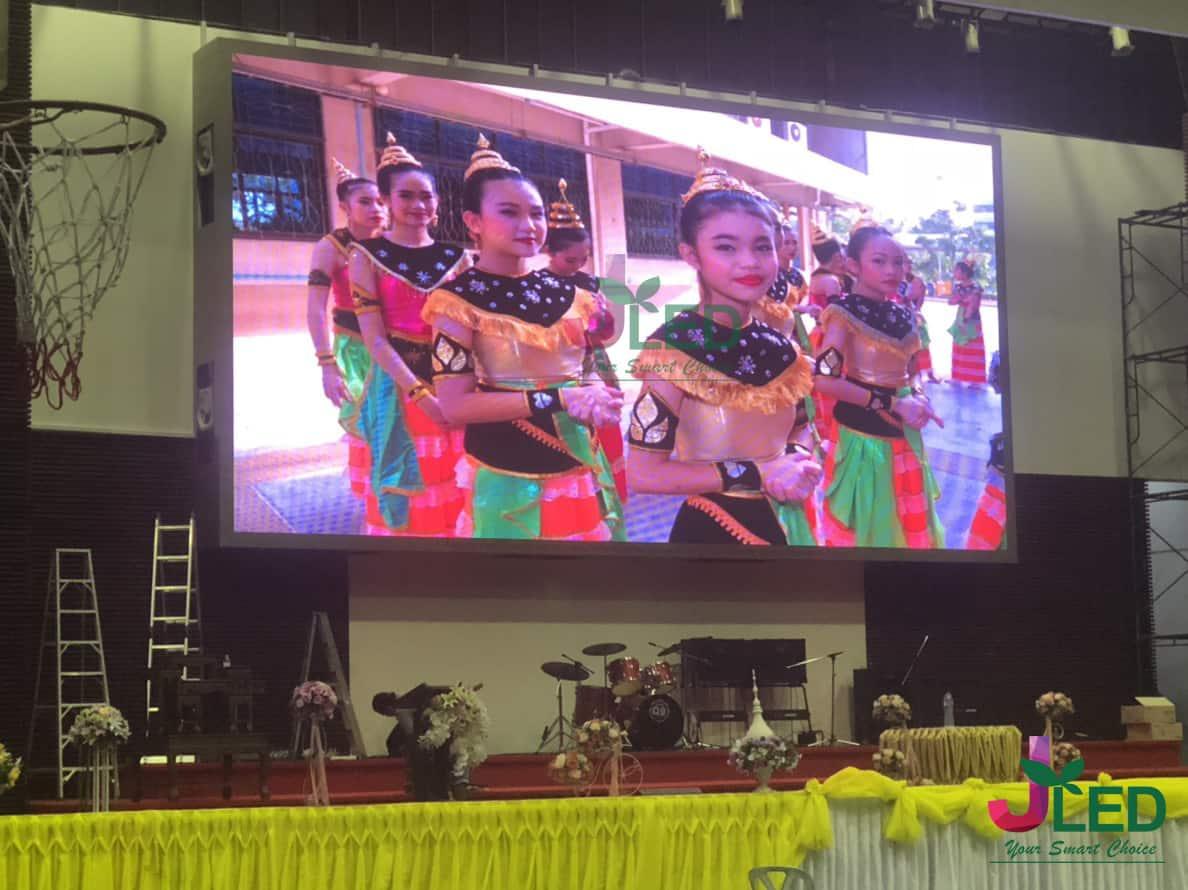จอled display full color p10 โรงเรียนพระหฤทัยดอนเมือง