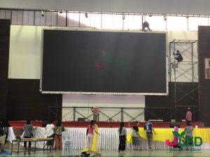 จอLED Display Full Color P10 โรงพระหฤทัยดอนเมือง 4