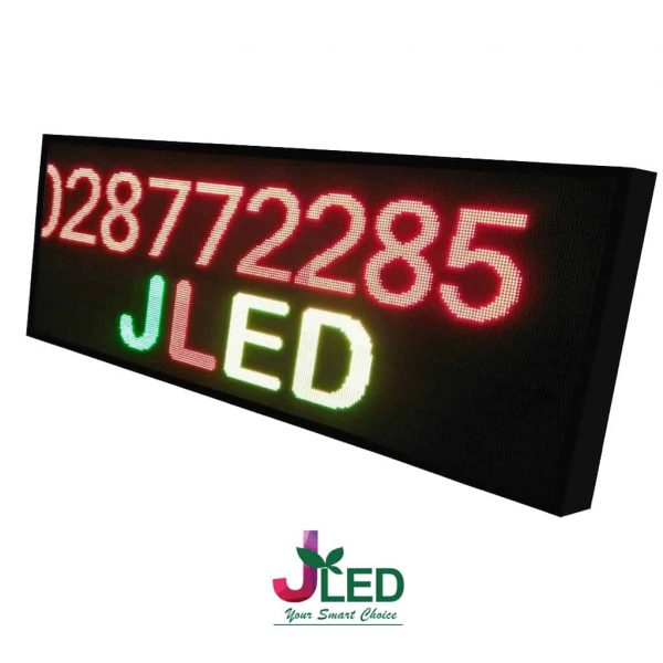 ป้าย ไฟ วิ่ง จอ LED RGY Scrolling Sign red green yellow jled