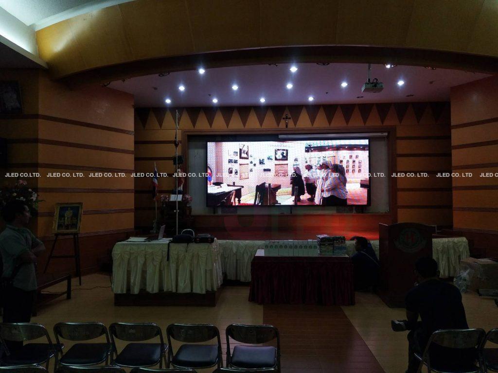 จอLED Display P6 Full Color Indoor Phraharuthai Nonthaburi School 02