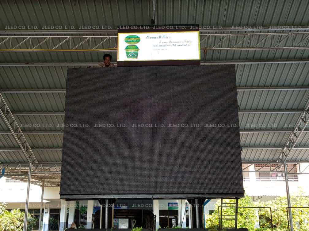 จอLED Display Indoor P10 โรงเรียนกำแพงแสนวิทยา school