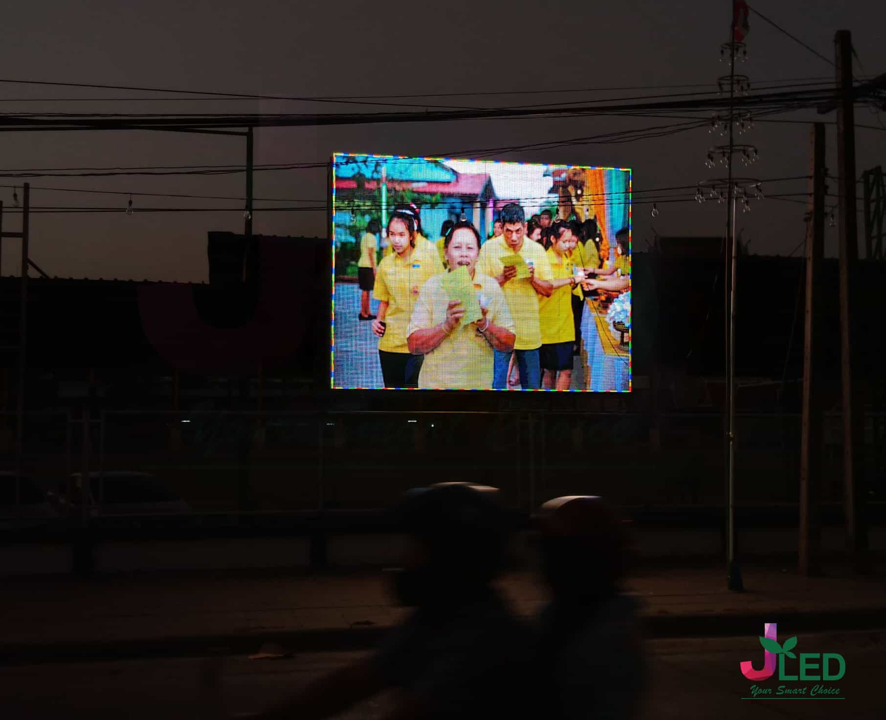 จอled display outdoor p10 school bang phli
