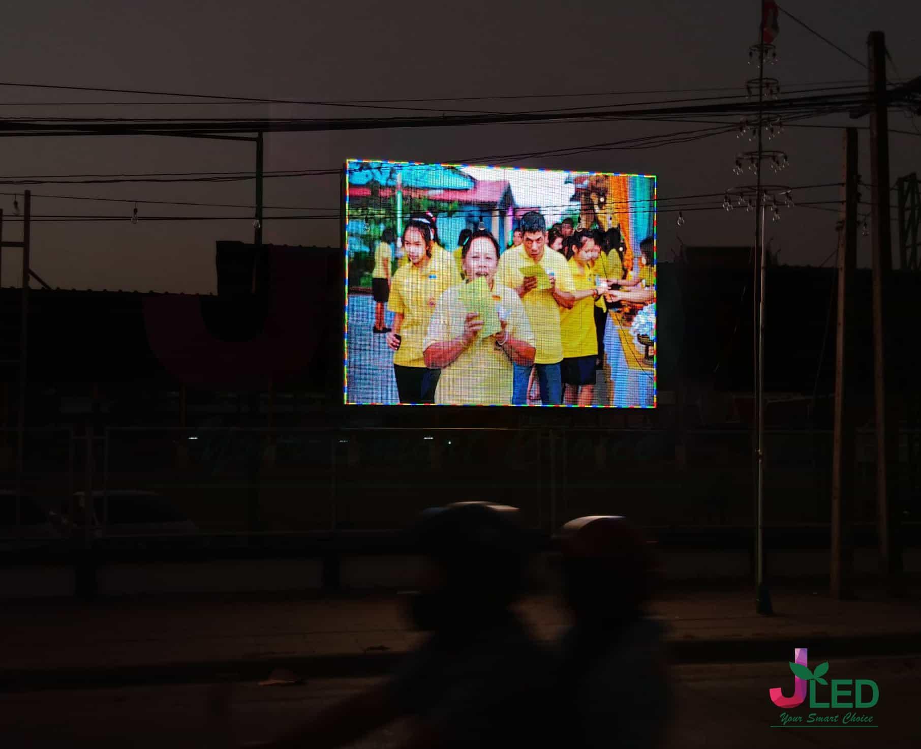 จอled display outdoor p10 school bang phli