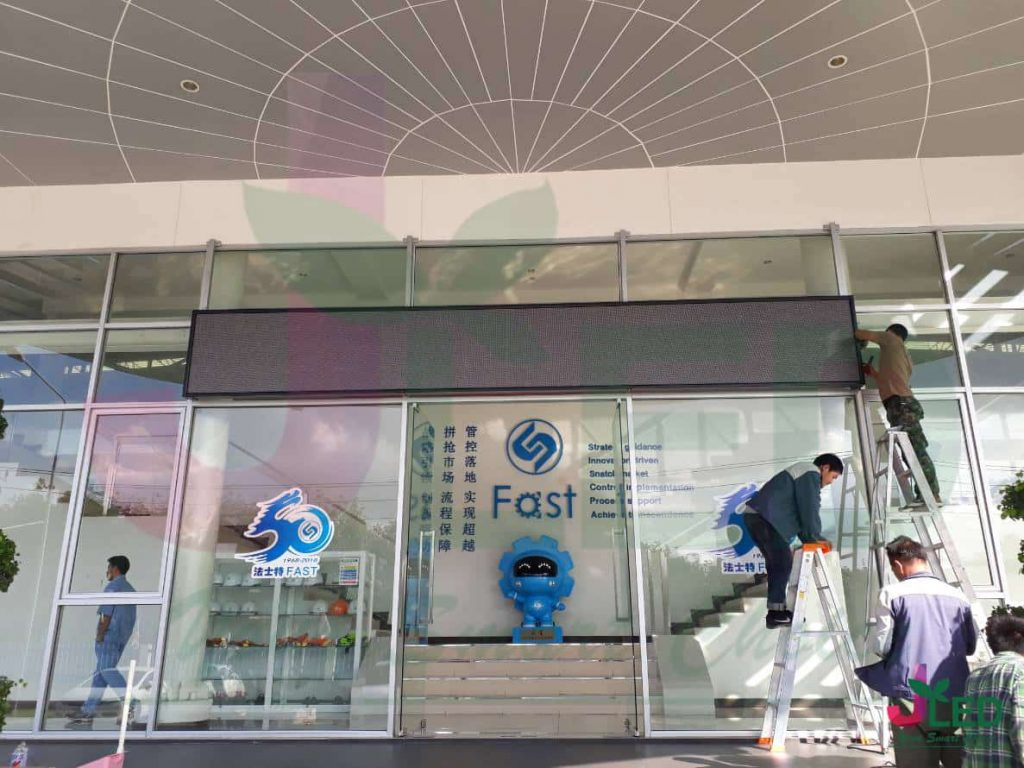 P6 จอLED Display Outdoor Shop (Fast Auto Drive ) installation