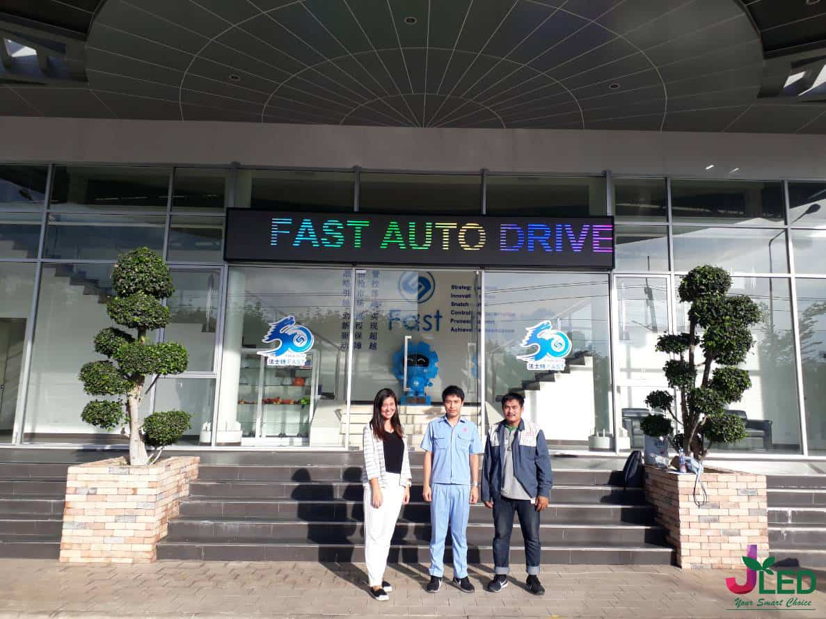 P6 จอLED Display Outdoor Shop (Fast Auto Drive )