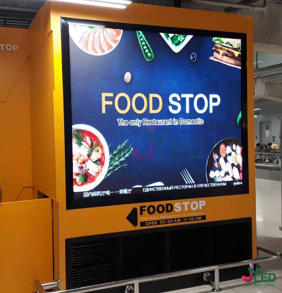 จอLED Display Indoor P2.5 King Power Project