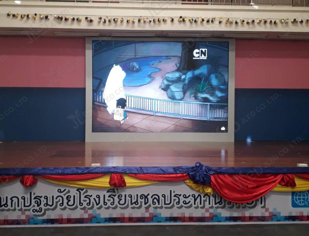จอLED Display Indoor P4 โรงเรียนชลประทานวิทยา 033 jled
