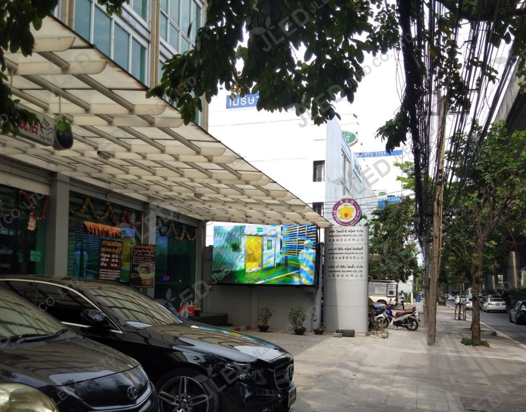 จอLed Display Outdoor P10 Fruit Industry 01