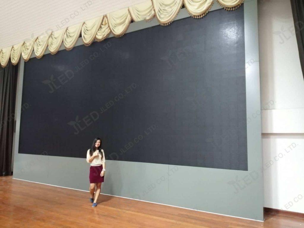 จอLED Display Indoor P6 โรงเรียนชลประทานวิทยา School project