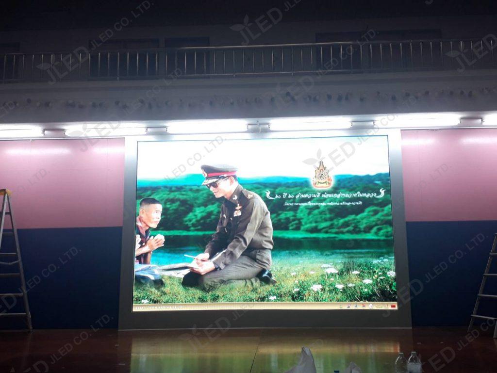 จอLED Display Indoor P4 โรงเรียนชลประทานวิทยา 022 jled