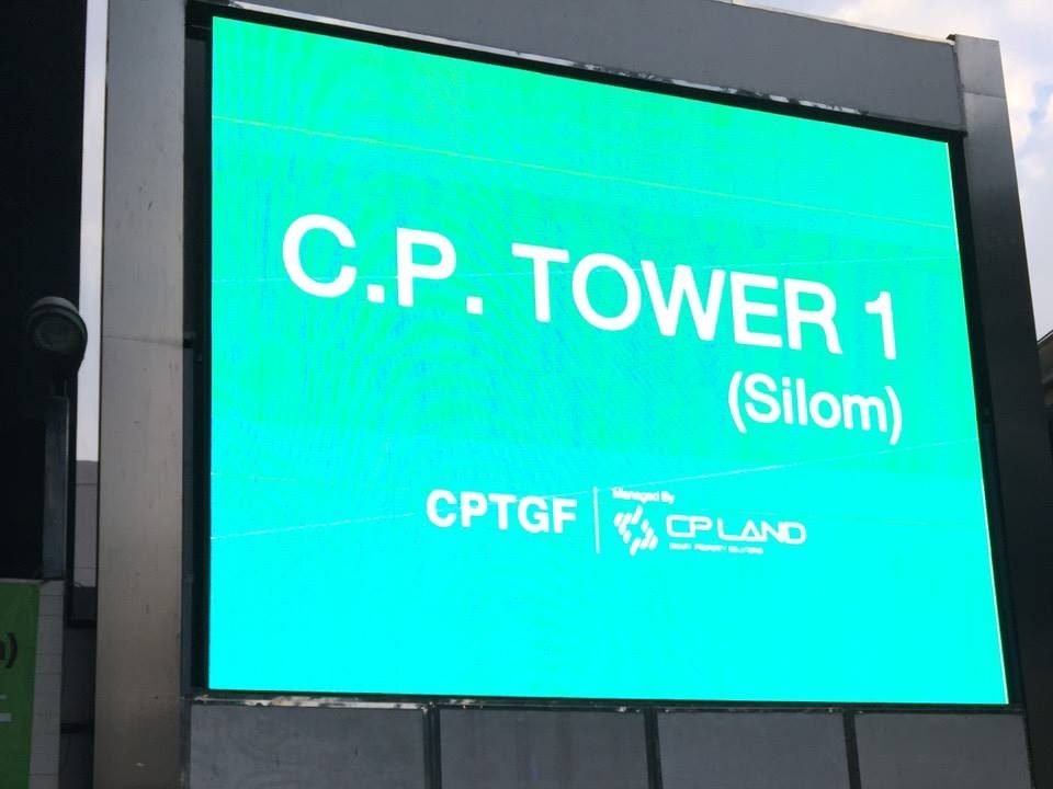 CP Tower Silom จอLed 02