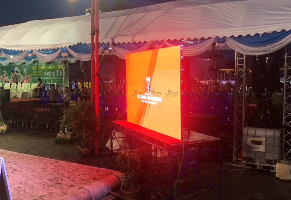 p4 จอled display screen udon thani thailand