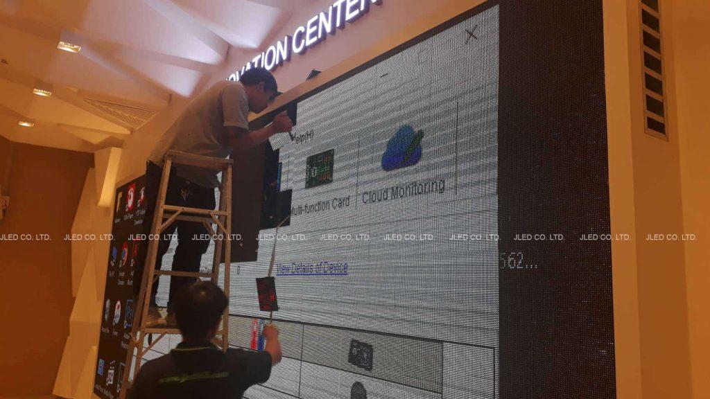 จอLED Display Indoor APF Innovation Center jled 02