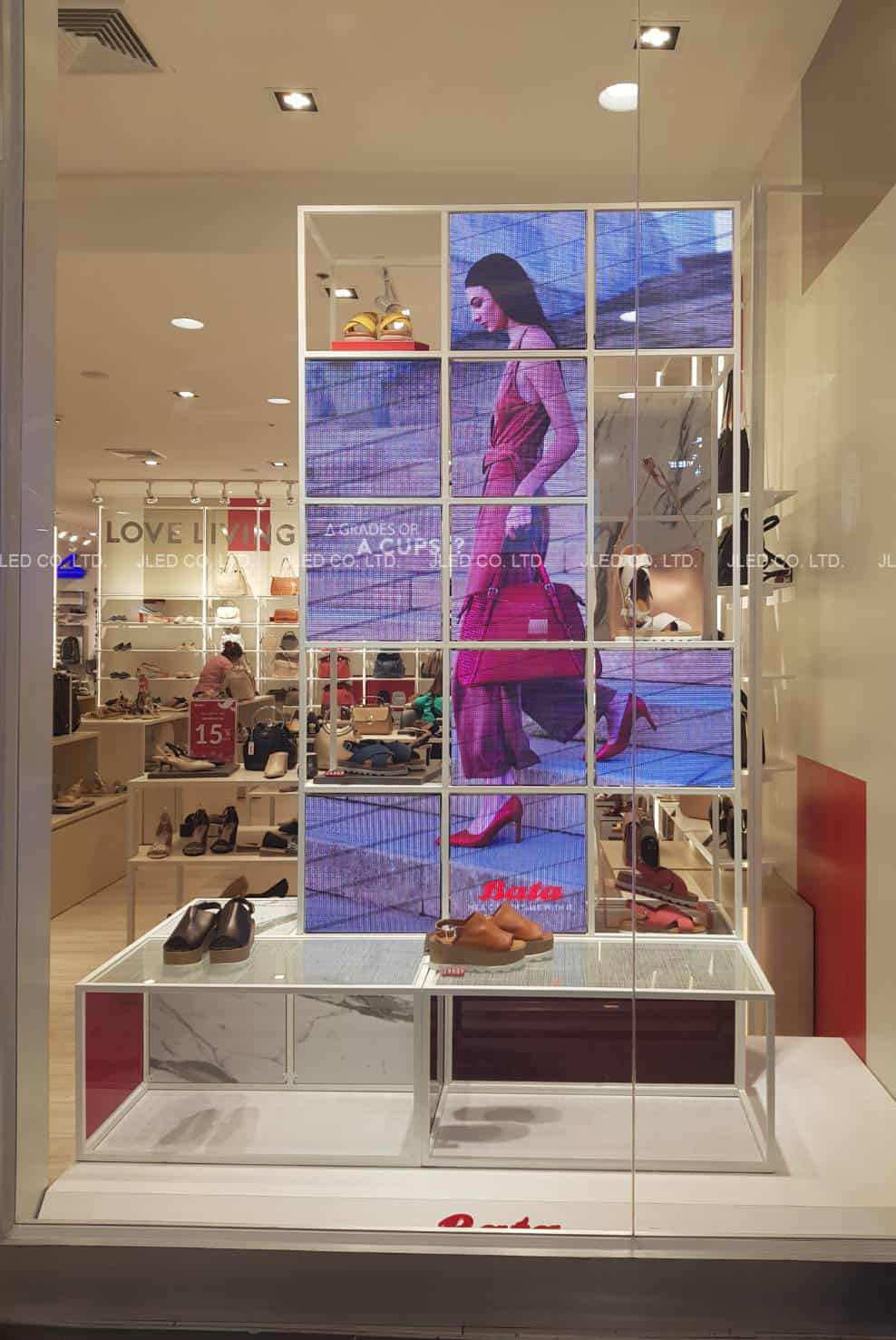 P3 จอLED Full color Indoor Bata Shop
