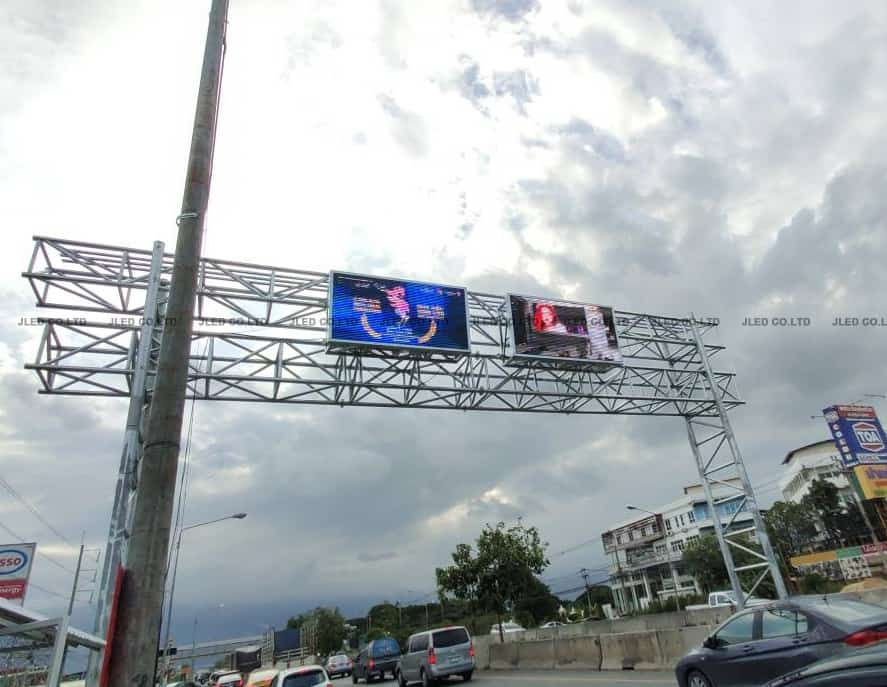 P8 จอLed Display Outdoor Road Installation jled