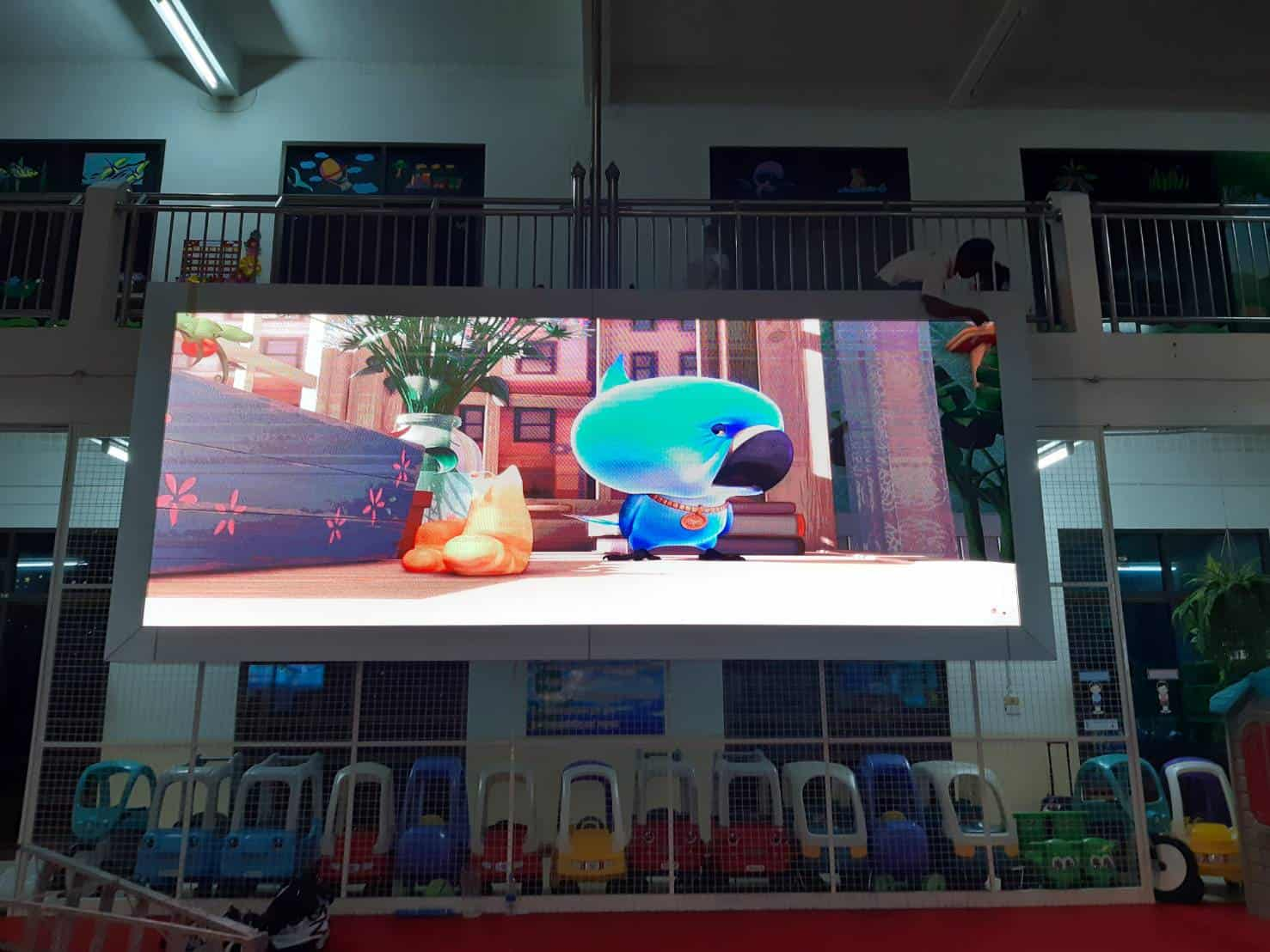 โรงเรียนพหฤทัยนนทบุรี P4 Indoor Full Color Display