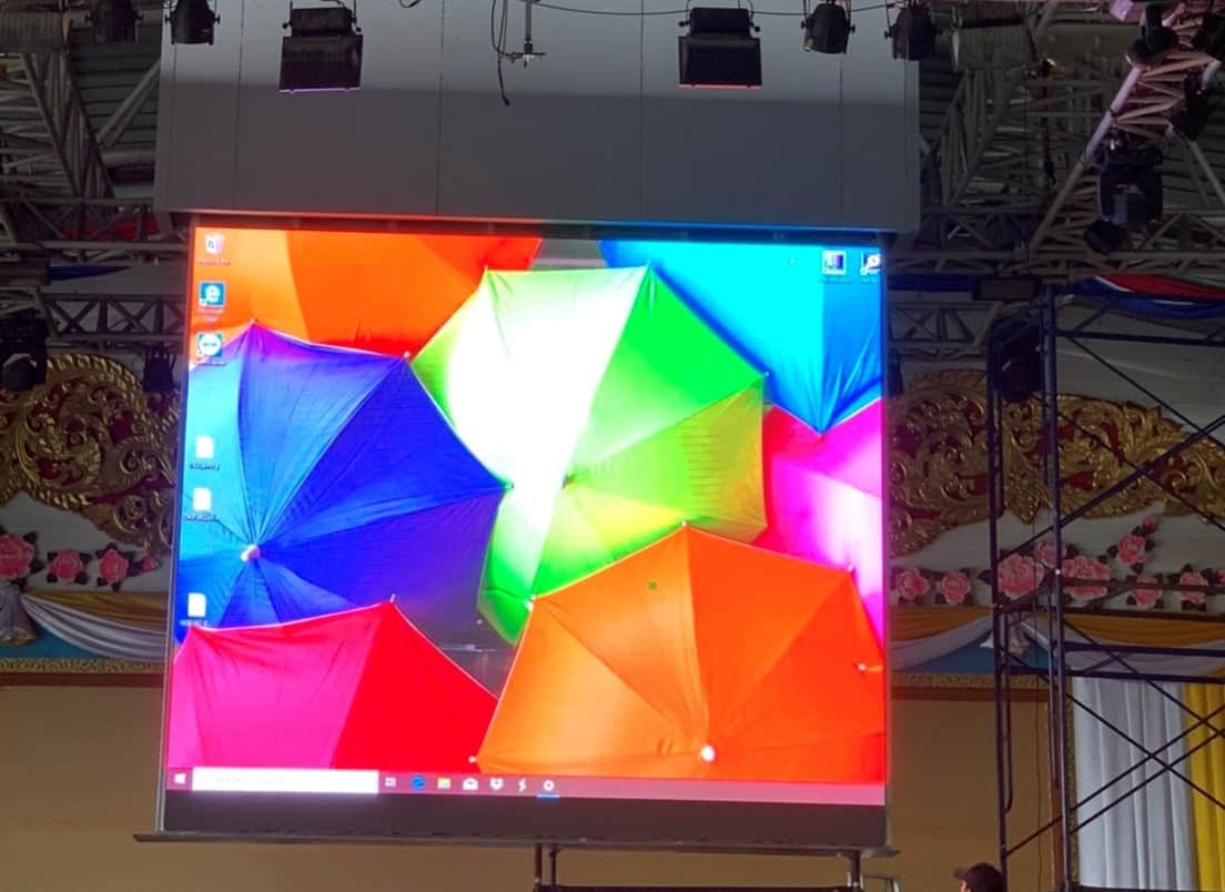 P3OutdoorจอLed Displayjled