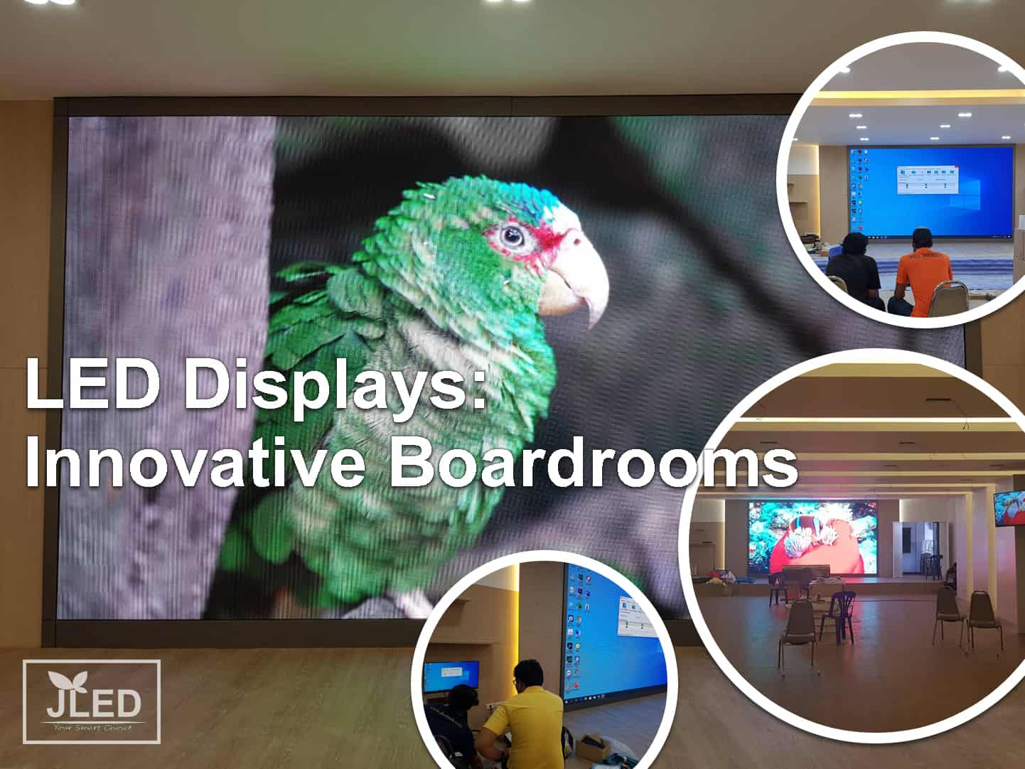 LED Displays: Innovative Boardrooms meeting room jled