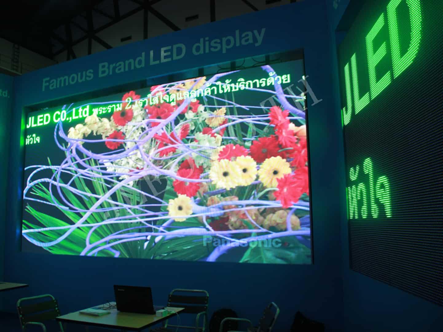 คุณจะสร้างหน้าจอ LED ขนาดยักษ์ได้อย่างไร jled